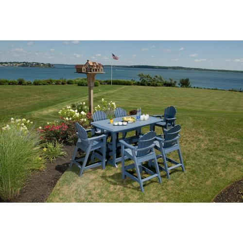 Seaside Casual - Portsmouth 42x72 Bar Table (086)