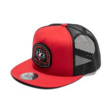 See Details - Red Snap-Flex Hat w/ Mirror Graphic