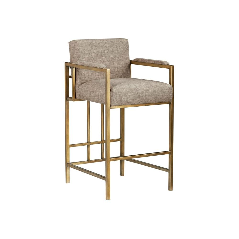 See Details - Woodwright Kahn Counter Stool