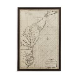 Coastal Chart of East Coast