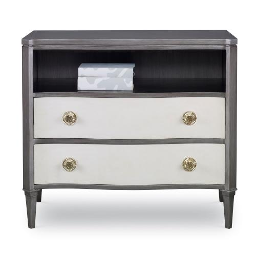 Stella Chest - Grey / Linen
