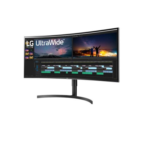 """38"""" QHD+ IPS Curved UltraWide™ Monitor (3840x1600) with HDR10, Dynamic Active Sync, Black Stabilizer, Flicker Safe, Reader Mode, Onscreen Control & Ergonomic Design"""