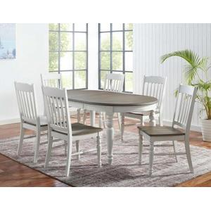 "Giles 70-inch Dining Table w/18"" leaf"