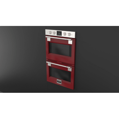 """30"""" Pro Double Oven - Glossy Red"""