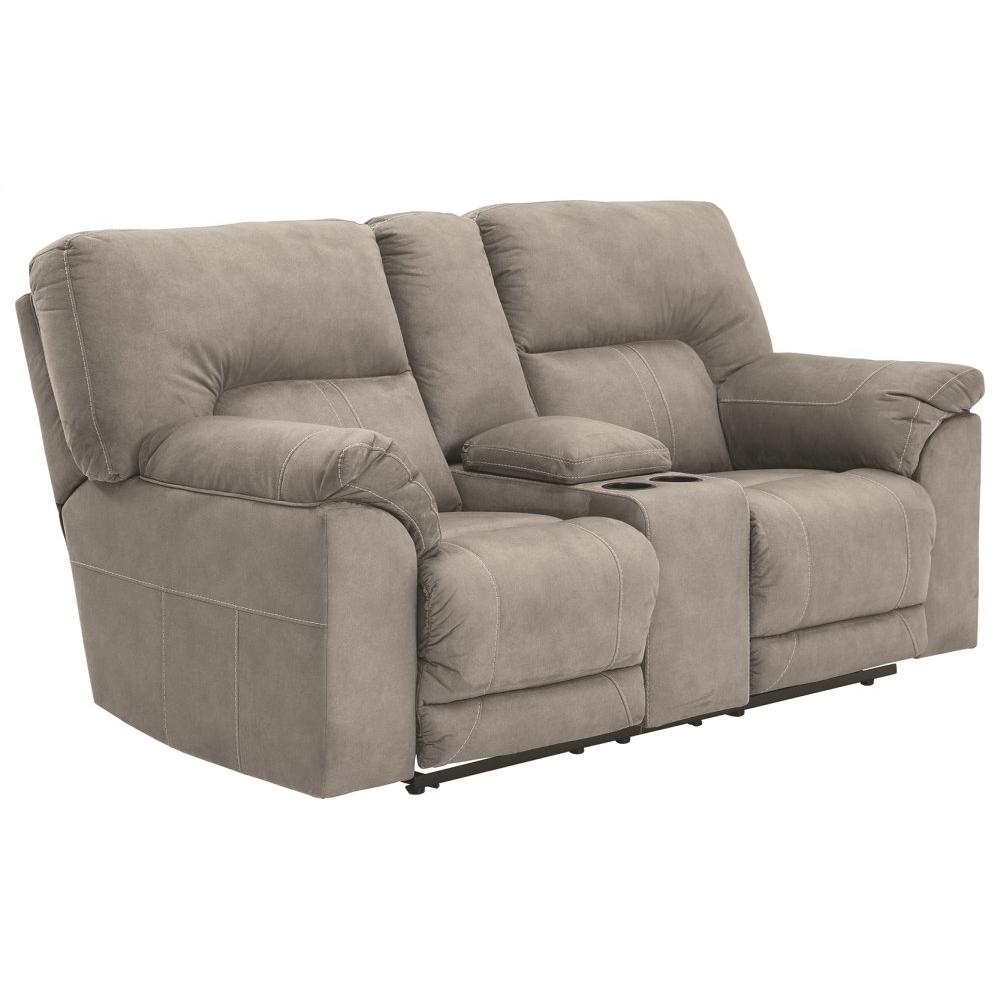 See Details - Cavalcade Reclining Loveseat With Console