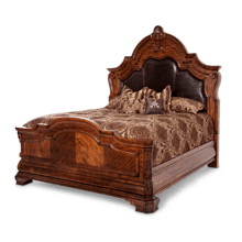 Cal King Mansion Bed (3 pc)