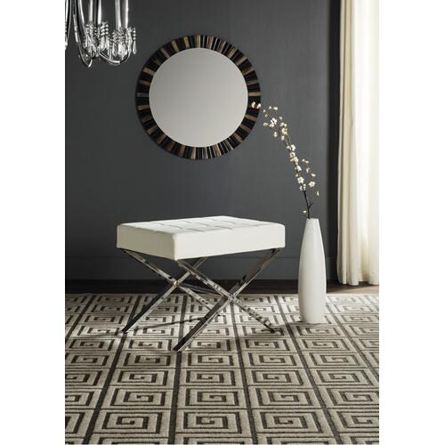 Sienna Ottoman - White