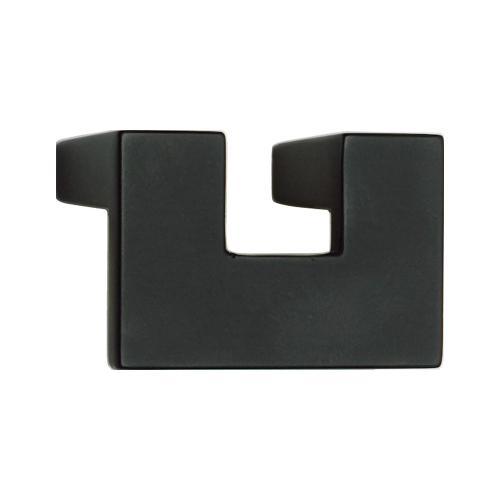 U Turn Knob 1 1/4 Inch (c-c) - Matte Black