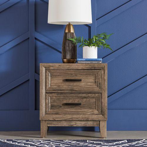 Gallery - King Storage Bed, Dresser & Mirror, Chest, Night Stand