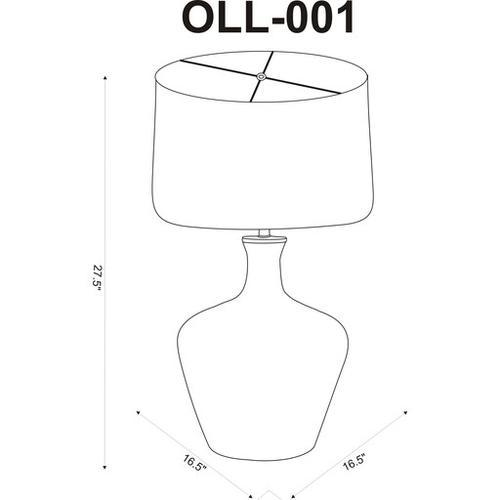 "Ollie OLL-001 28""H x 17""W x 17""D"