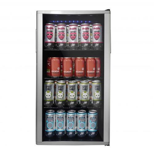 Danby - Danby Beverage Center 120 Can Capacity