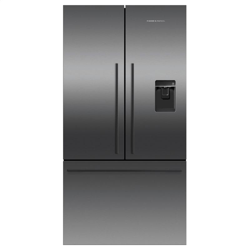 """Freestanding French Door Refrigerator Freezer, 36"""", 20.1 cu ft, Ice & Water"""