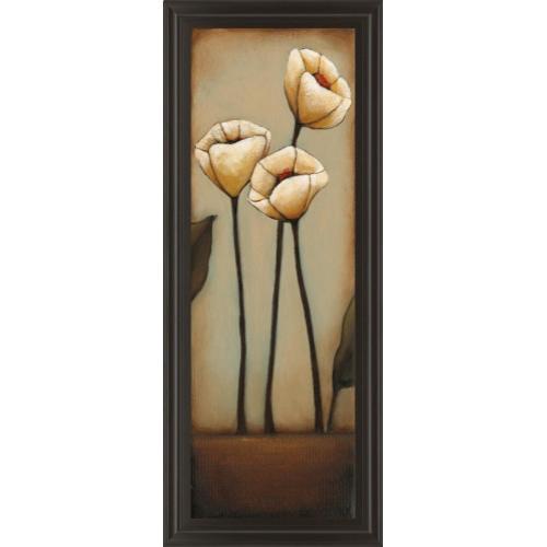 "Classy Art - ""Jardin De Flores Il"" By H. Alves Framed Print Wall Art"