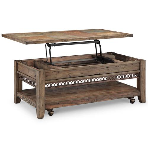 Magnussen Home - Lift Top Cocktail Table (w/Casters)