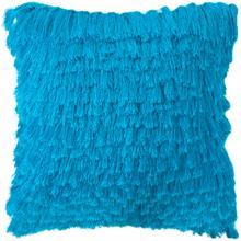 Cali Shag Pillow - Electric Blue