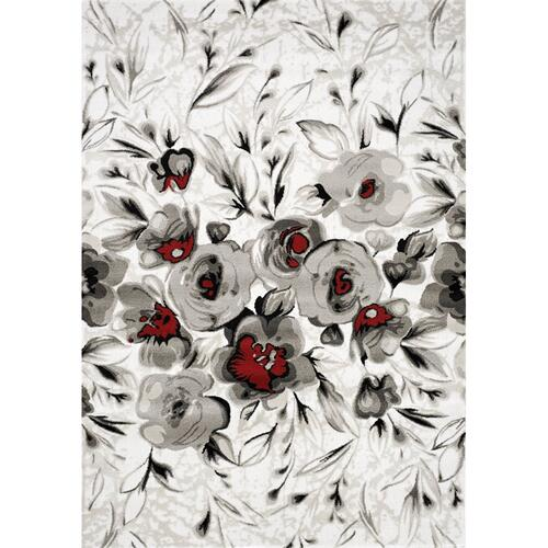 Platinum 3092 White Grey Red 8 x 11