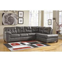 See Details - 2 PIECE SECTIONAL WITH RAF CORNER CHAISE
