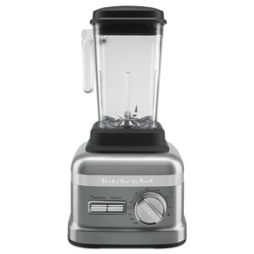 NSF Certified® Commercial Beverage Blender with 3.5 peak HP Motor - Contour Silver