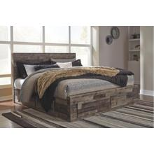 View Product - Derekson King Panel Bed With 6 Storage Drawers