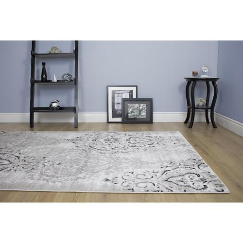 Platinum 1159 White Grey 3 x 5