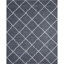 Atlanta Shag - ATL1041 Dark Gray Rug