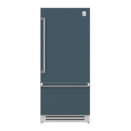 "Hestan - 36"" Bottom Mount, Bottom Compressor Refrigerator - KRB Series - Pacific-fog"