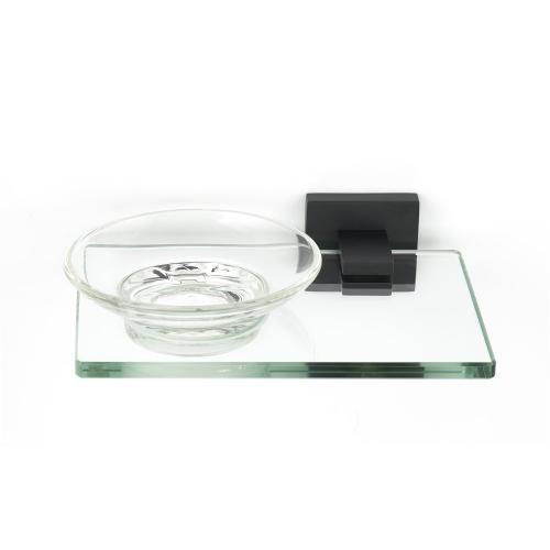 Contemporary II Soap Holder A8430 - Matte Black