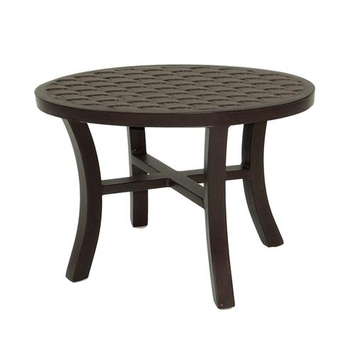 """Castelle - 26"""" Classical Elliptical Occasional Table"""