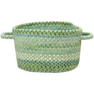 Sailor Boy Sea Monster Green Braided Rugs