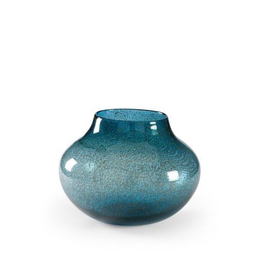 Turquoise Bubble Vase (sm)