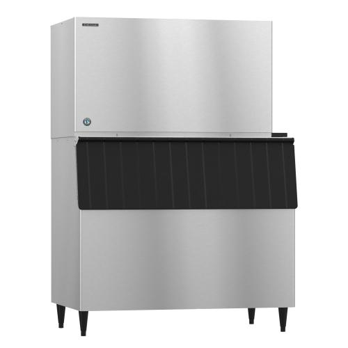KM-1301SWJ3, Crescent Cuber Icemaker, Water-cooled, 3 Phase