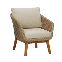 See Details - Crystal Cave Outdoor Lounge Chair With Cushion