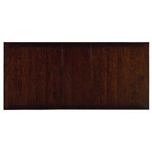 """Standard Furniture - McGregor Dining Table with 18"""" Leaf, Brown"""