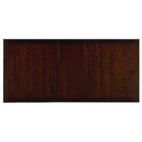 """Gallery - McGregor Dining Table with 18"""" Leaf, Brown"""