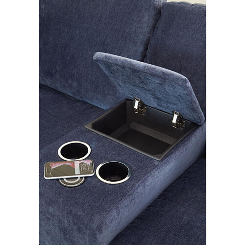 DOVELY SECT. Stationary Sofa