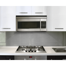 View Product - Sharp Carousel Over-the-Range Microwave Oven 1.1 cu. ft. 850W Stainless Steel