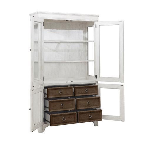 Pulaski Furniture - Glendale Estates 6 Drawer Curio Cabinet
