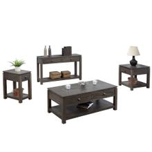 See Details - Living Room Set - Shades of Gray (4 Piece)