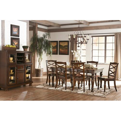 Porter Dining Room Side Chair Rustic Brown