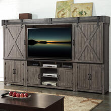 Storehouse Entertainment Wall