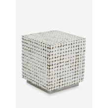 New Hampton End Table - White Wash16.5x16.5x18.5