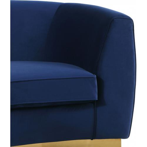 """Julian Velvet Sofa - 91.5"""" W x 43"""" D x 29"""" H"""
