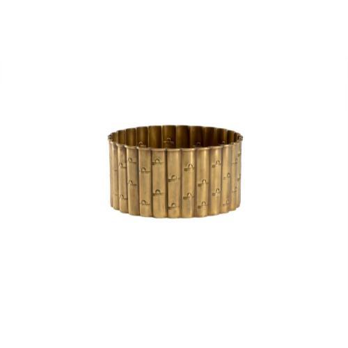 Brass Bamboo Planter (med)