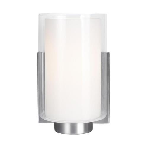 Bergin 1 - Light Sconce Satin Nickel