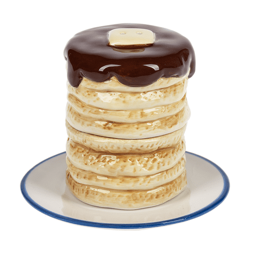 Salt & Pepper Shakers - Pancake (3 pc. set)