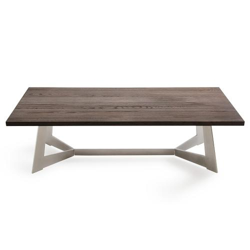 Modrest Wharton Modern Dark Aged Oak Coffee Table