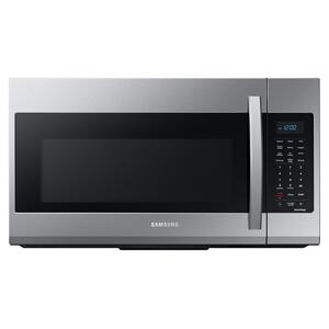 Samsung1.9 cu. ft. Smart Over-the-Range Microwave with Wi-Fi and Sensor Cook in Stainless Steel