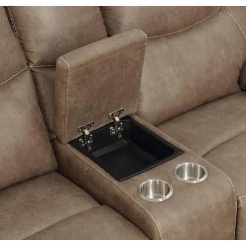 Steve Silver Co. - STEVE SILVER IS850CLS Isabella Sand Console Reclining Loveseat