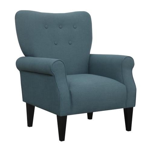 Lydia Accent Chair, Navy U3600-05-14