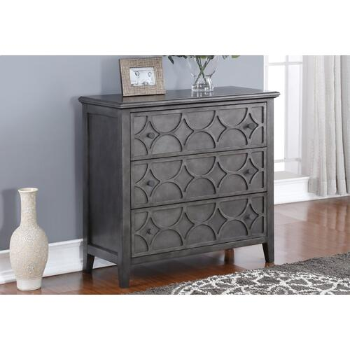 New Classic Furniture - Lucia 3-Drawer Chest in Antique Brown